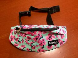 Arizona Green Tea Fanny Pack With Floral Design And Adjustable Strap