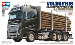 Tamiya 56360 1/14 Scale Ep Rc Volvo Fh16 Globetrotter 750 6x4 Timber Truck Kit