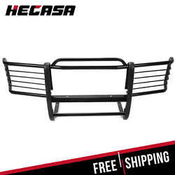 Fits 88-98 Chevrolet Gmc Silverado Sierra Black Front Grill Grille Brush Guards
