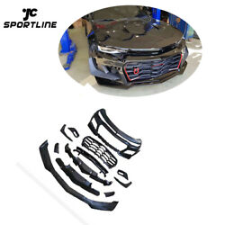 For Chevrolet Camaro 16-19 Front Bumper Cover Body Kit Refit With Grill Factory