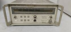 Hp Agilent 5348a 10 Hz To 26.5 Ghz Microwave Counter / Power Meter Make Offers