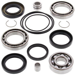 Rear Differential Bearing And Seal Kit For Honda Trx300fw Fourtrax 4x4 1988-2000