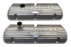 Shelby Gt350 Mustang Cobra 260-289-302 351w Open Letter Original Valve Covers