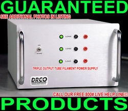 New Tube Audio 300b Amplifier Filament Linear Regulated Dc 5 6 Volt Power Supply