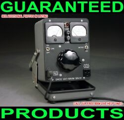 New Custom Made One Of A Kind General Radio Portable Dual Metered 15-amp Variac