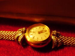 Luxury Omega  Solid Gold 18k Lady All Original With Original Omega Box