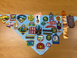 Large Vintage Lot Of 1950's And 1960's Boy Scout Collectibles St. Louis Area