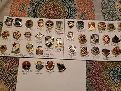 Us Army Dui Badges Dealer Lot Sale 37 Badges-----new 250.00 Free Shipping