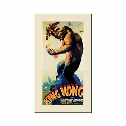 King Kong, 24x47-inch Canvas Wall Art 24 By 47-inch