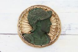 19th Century French Neo-renaissance Large Plaster Bas-relief Wall Plaque