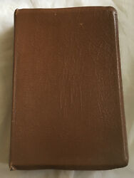 Vintage 1967 Holy Bible Oxford New Scofield Reference Edition Kjv Needs Repair