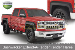 8ft Bed Extend-a-fender Flares 4pc Set Oe Matte Black For 1993-1998 Toyota T100