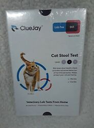 ClueJay Cat Stool Test Fecal Test Level 2 Collect amp; Mail from Home Sealed