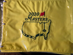 2020 And 2021 Augusta National Golf Masters Embroidered Pin Flag New