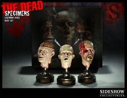 Sideshow The Dead Specimens Complete Set- All Five Busts