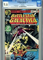 Battlestar Galactica 1 Cgc 9.6 1979 White Pages