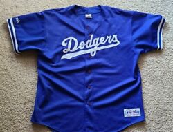Dodgers Majestic Made In Usa Jersey Mens Xxl 31 Vintage Rare