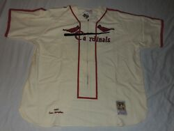 Nwt Authentic Mitchell And Ness Enos Slaughter 1946 St. Louis Cardinals Jersey 64