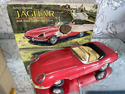 Vintage Toy Jaguar E Type Battery Remote Control By Marx Spares Ideal Display