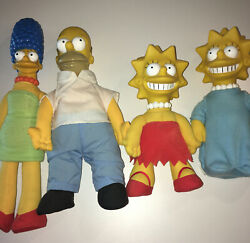 The Simpson's Burger King Dolls 1990 Signed Maggie