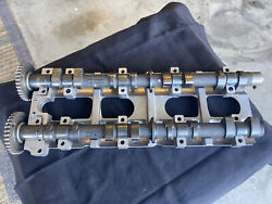 2008 Kawasaki Ultra 250x Intake And Exhaust Camshafts W/ Holder And Hardware