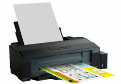 Dhl Ship - New Epson L1300 Ink Tank System Printer A3 Size