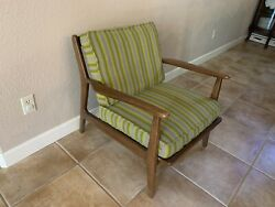Vintage Mid Century Modern Baumritter Arm Lounge Chair Armchair Vg 60and039s Retro 1