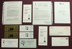 1963 Academy Awards Oliver Emert Estate Tickets Letters To Kill A Mockingbird ++