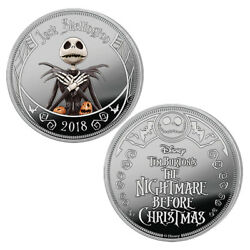 The Nightmare Before Christmas Proof Coin Collection By The Bradford Exchange