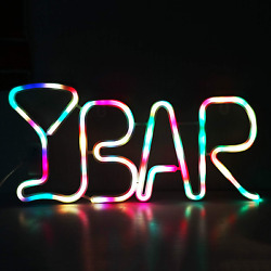 Led Neon Light Up Bar Signs With Lights Bar Neon Light And Signs Letters Usb Op