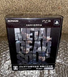 Metal Gear Solid The Legacy Collection Sealed Sony Ps3 Japan Import Good Cond