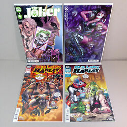 The Joker 2 And Old Lady Harley 3 Dc Comics - 1st Apps Of Vengeance And Bane Twins