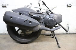 2008-2021 Genuine Scooter Roughhouse 50 Engine Motor Transmission W/ Rear End