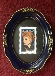 Actress And Comedian Lucille Ball Framed Unused U.s.postage Stamp