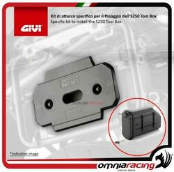 Givi Kit To Install The S250 Tool Box On Pl5108cam Bmw R1250gs /adventure 19