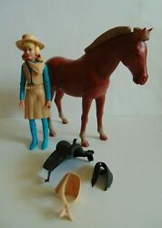 ⚡marx Best Of The West 1967 Josie West W/ Pancho Pony W/ Accessories Lot L@@k