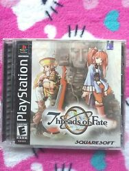 Threads Of Fate Playstation 1, Ps1 Brand New Sealed