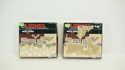 Lionel O Scale Road Signs 2 Sets - Boxes Peeling - Item 6-62180 New S5