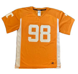 Tennessee 98 Vols Sec Russell Football Jersey Youth Boys L 10-12