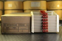 Beyschlag B1 1w Nos New Old Stock Carbon Film Resistors 5 High End Parts