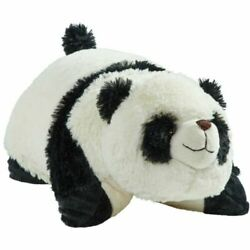 Pillow Pets LARGE 18quot; Signature Comfy PANDA 2010 Stuffed Animal Plush Toy