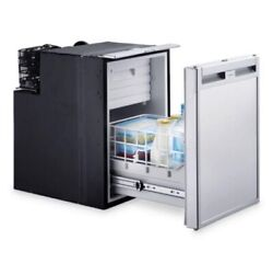 Dometic Crd-1050e - Brand New In Box - Ac/dc - Silver - Slide Out Fridge/freezer