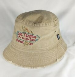 One Feather Fly And Tackle Shop 100 Cotton Fishing Bucket Hat Ouray Sportswear