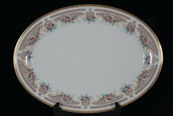 Rare Discontinued Lenox China Versaille Pattern Oval Serving Platter 16 3/8 New