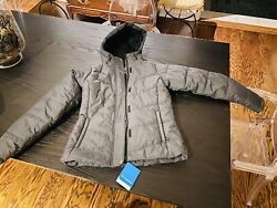 Columbia Mccleary Pass Jacket Womenandrsquos Xs Nwt Color Night Shadow Heather