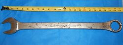 Vintage Williams Superwrench 1180 12 Point 1 5/8 Combination Wrench