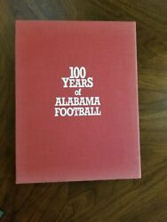 100 Years Of Alabama Football Century Of Champions 1892-1992 Limited Ed Signed