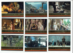 Game Of Thrones Season 4 Four Complete 100 Card Gold Foil Parallel Set /150