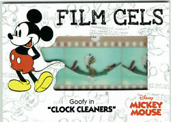 Disney Mickey Mouse Upper Deck 2020 Manufactured Film Cel Card F-22 Goofy