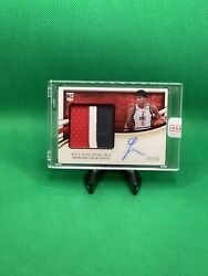 2019-20 Immaculate Rpa Rui Hachimura Rc Auto Patch 5/10 3 Color On Card 🔥🔥🔥🔥